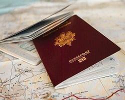 Obtain French passport